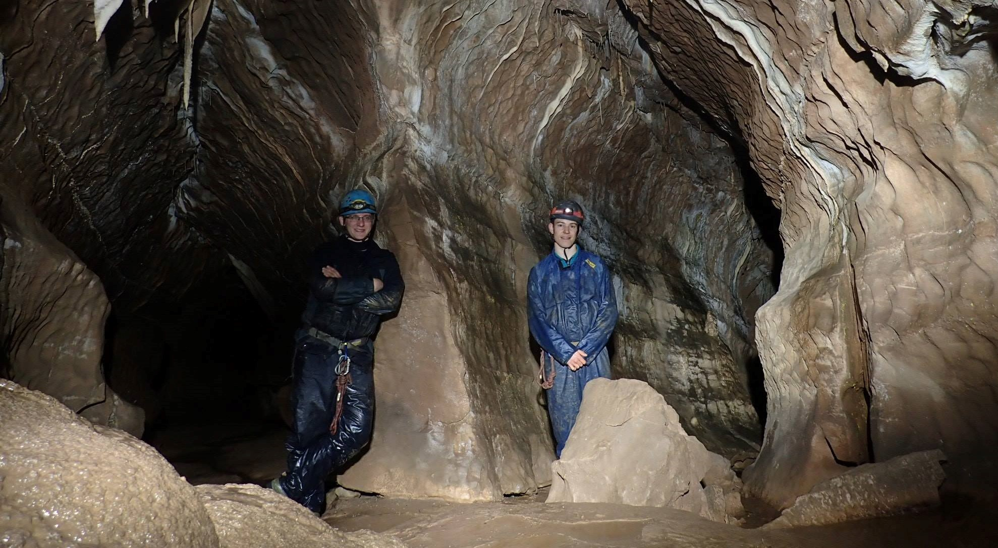 Caving in Brecon